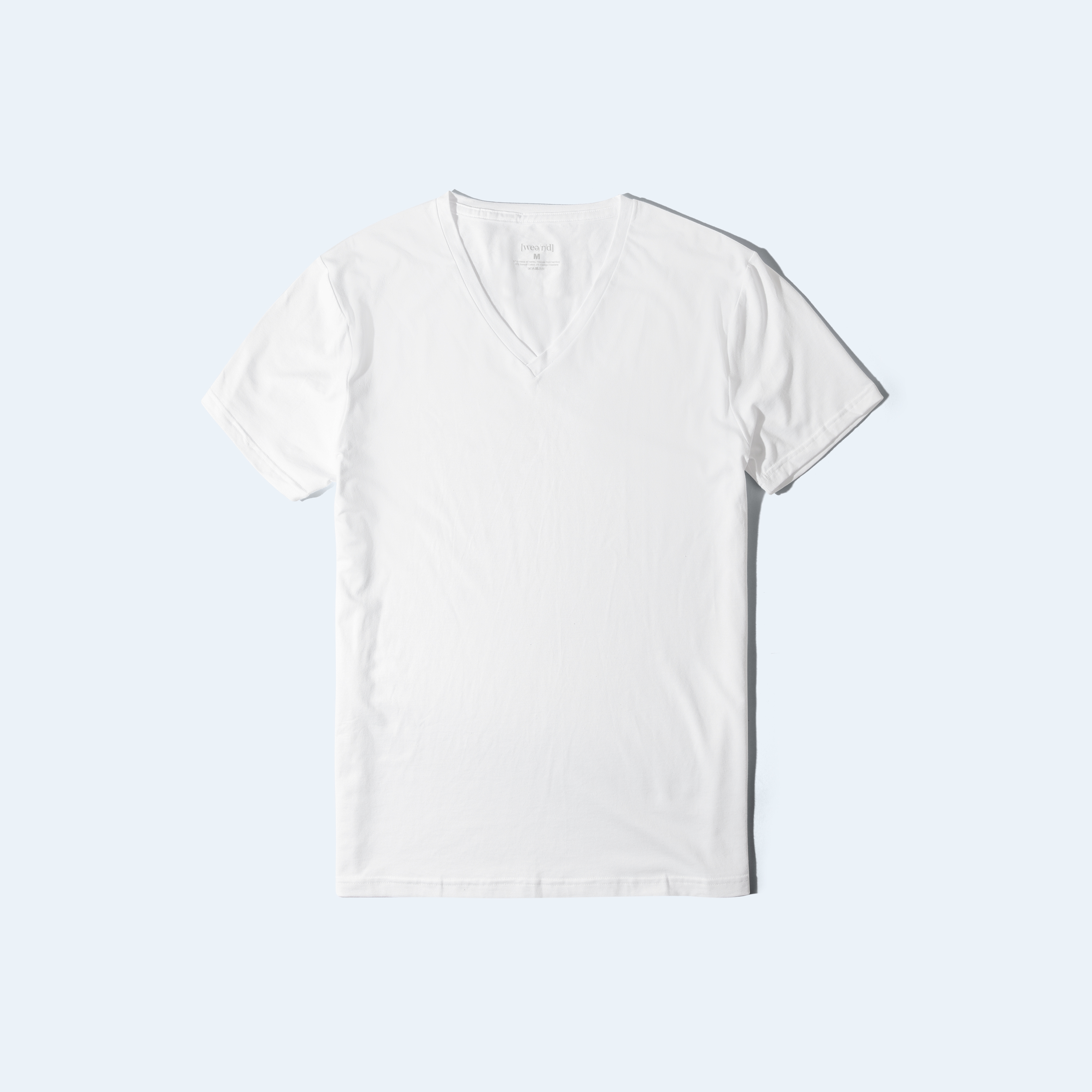 Awesome T-shirt [V-neck] - white